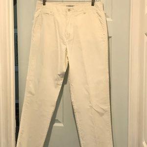 Men's Calvin Klein White Summer Pants 34 X 32